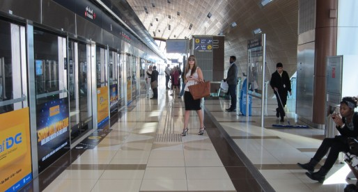 Cleanest subway on earth goes to Dubai